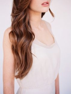 Wedding Ideas: natural-waves-wedding-hair