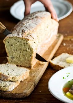 This is my favourite bread recipe! Finnish Recipes, Salty Foods, Home Food, Daily Bread, Bread Baking, Deli, Bread Recipes, Banana Bread, Easy Meals