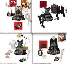 One JSK, 4 different ways.   http://www.polyvore.com/classic_lolita/set?id=13614795