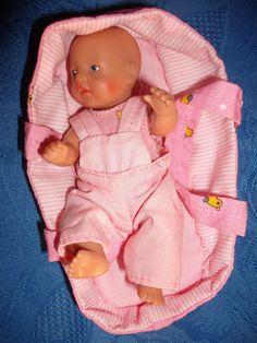 Zapf Baby Born Mini Puppe mit Trage