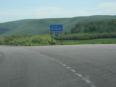 June 2013 - Enter Idaho from Wyoming on US89 (it's a 72 mile drive through Idaho across it Southeast corner)