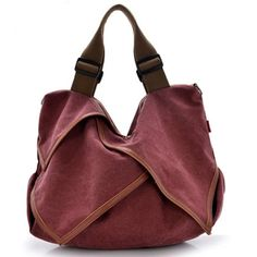 Canvas Portable Tote Handbags Flower Design Shoulder Bags Crossbody Bags Big Bags