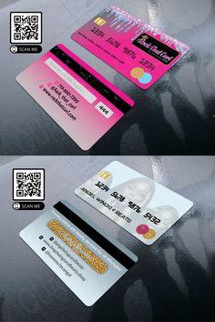 Do you want Credit Card style business card design. , , #businesscard #fashion #fashionstyle #fashionblogger #glitter #glittermakeup #nailart #love #logo #design #cosmetics #maccosmetics #lashextensions #lash #makeup #makeupartist #makeupforever #salon #beauty #beautytips #businessowner #photoshop #illustrator Credit Card Design, Thank You Card Design, Thank You Cards, Branding Design, Logo Design, Graphic Design, High Quality Business Cards, Glitter Cards, Some Cards
