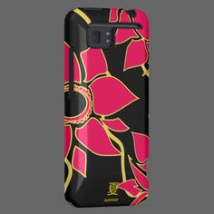I love the bold rose-gold design on this Zazzle case