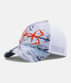 fec5653419c Men s UA Fish Hook Camo Adjustable Cap