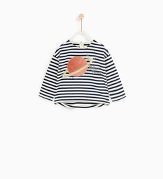 STRIPED PLANET T-SHIRT-NEW IN-BABY GIRL | 3 months - 4 years-KIDS | ZARA United States