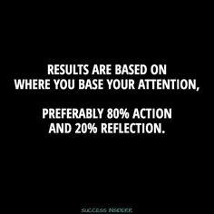 Focus & Grind...