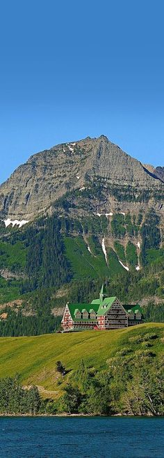 The Prince of Wales Hotel in Waterton National Park, Alberta, Canada