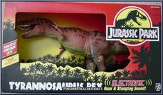 Kenner Jurassic Park Series 1: Electronic Tyrannosaurus Rex 1993