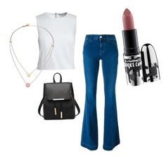 """""""Islaine's Style To School"""" by prettyliarxs on Polyvore featuring STELLA McCARTNEY, Canvas by Lands' End, Michael Kors and MAC Cosmetics"""