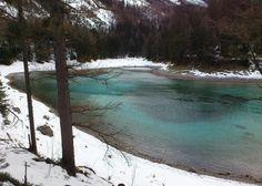 The Green Lake, or Grüner See, is located in the village of Tragöß, Austria and seems normal at first glance. However, that glance depends on what time of year you see the lake. During the frozen winter, the lake is mostly dry and becomes a popular spot for hikers in the region. However, when the temperatures rise, ice and snow on the nearby mountains begins to melt and fill the lake, covering up the grass, trees, and benches that had been visible only months before.
