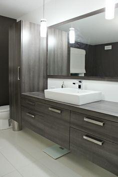 44 Unique Sink Concept That You Have to Try Large Bathrooms, Modern Bathroom, Small Bathroom, Bathroom Ideas, Bad Inspiration, Bathroom Inspiration, Armoire Design, Find Furniture, Basement Bathroom