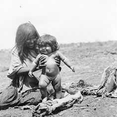 Apache Woman and Child by William Henry Jackson