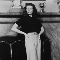 Katharine Hepburn | Audrey Hepburn Vs. Katharine Hepburn: Who Is The Better Style Icon ...