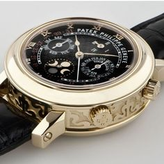 Patek Philippe sky-moon-tourbillon. If you want the ultimate in finely crafted watches, you want Patek Philippe.