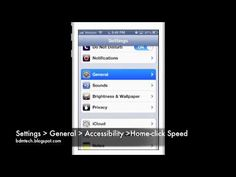 Slow Down iOS Home-Click Speed via Assistive Technology Blog