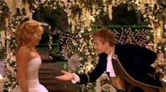 Romantic - dance in a gazebo with Prince Charming <3 Maybe an idea for the groom to wear? (what's around his neck not the costume)