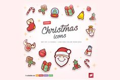 Warm and fluffy just like baked marshmallow during winter, today you can have a pack of Free Cute Christmas Icons. These icons /Volumes/cifsdata2$/_MOM/Design Freebies/Free Design Resources/[NAS ZTUDIO] Xmas