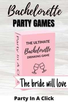 Planning a Bachelorette party and looking for some fun drinking games? Bachelorette party games are the key to any amazing bachelorette!  Group drinking games are key and this hilarious bachelorette game will get you and the girls laughing, drinking and having a great time! All in a click of a button! bachelorette party ideas girl night |  party drinking games alcohol | girls night party | girls night games ideas | bachelorette drinking | Bachelorette party ideas girl night Bachelorette Drinking Games, Fun Drinking Games, Birthday Party Decorations, Party Themes, Party Ideas, Girls Night Games, Hawiian Party, Hot Wheels Party, Girl Night
