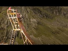 This Place Is Amazing, And Even Better With Mountain Bike Freeride   Funny and Amazing Videos