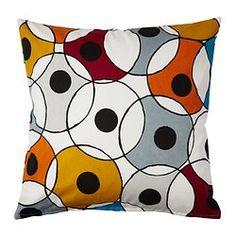 """DVÄRGPALM cushion cover, multicolor Length: 20 """" Width: 20 """" Length: 50 cm Width: 50 cm"""