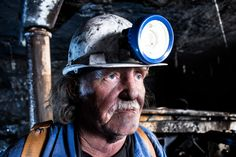 Mine Captain Underground Faces of Africa - amazing people I have photographed all over the continent This photo: Mine Captain Underground