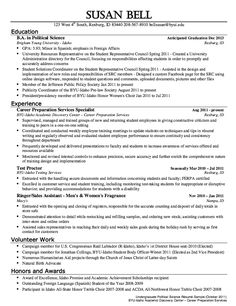 political science resume sample httpresumesdesigncompolitical science