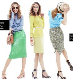 What to Wear with a Skirt