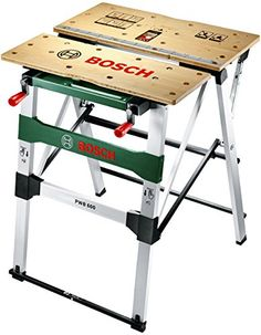 "Bosch Table de travail ""Universal"" PWB 600 avec 4 cales de serrage 0603B05200: Amazon.fr: Bricolage"