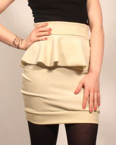 Great way to create a waist for the petites :)