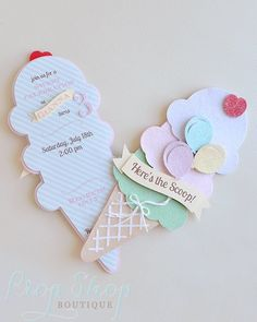 Ice Cream Social, Ice Cream Cone Birthday Invitation by propshopboutique on Etsy https://www.etsy.com/listing/238032655/ice-cream-social-ice-cream-cone-birthday