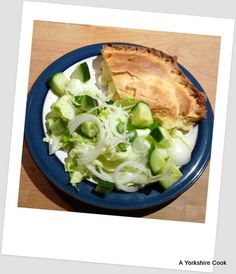 Cheese and Onion Plate Pie - A Yorkshire CookA Yorkshire Cook