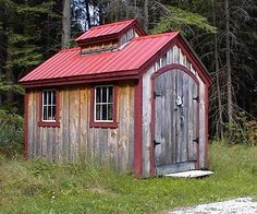 Jamaica Cottage Shop offers quality sheds for sale. Check out this sugar shack style shed that's perfect for storing garden tools, equipment & much more! Shed Plans 8x10, 10x12 Shed Plans, Lean To Shed Plans, Free Shed Plans, Wooden Sheds For Sale, Small Prefab Cottages, Tiny Cabins, Jamaica, Outdoor Garden Sheds