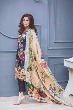 Rangrasiya Lawn Suit, Ladies Designer Replica, Online Clothes Shopping.