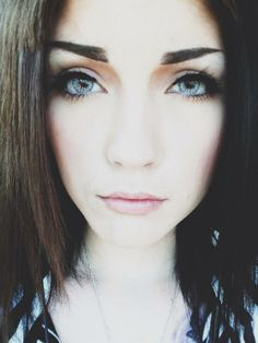 I love her eyes and her eyebrows