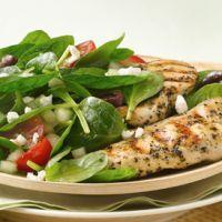 Low Carb Greek Grilled Chicken Salad
