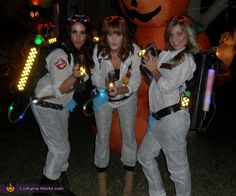 Solo Cups - Halloween Costume Contest at Costume- Ghostbusters