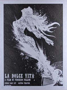 Alien Corset La Dolce Vita Movie Poster