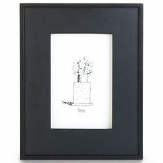 Michael Graves Design Black Wood Picture Frame - jcpenney