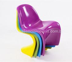 Cadeira Panton Infantil - Promocional