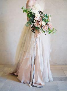 Photography: Jose Villa Photography - josevillaphoto.com Floral Design: Sarah Winward - sarahwinward.com Wedding Dress: Carol Hannah - carol-hannah.com/ Read More on SMP: http://stylemepretty.com/vault/gallery/56593