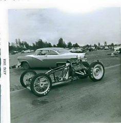Vintage Drag Racing - 1958