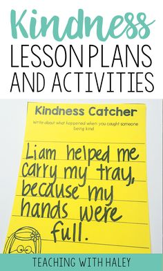 Building a classroom community is one of the most important things teachers can do and it greatly impacts our students academically! This unit on KINDNESS is part of a year-long curriculum for teaching students how to have great character! | lessons on kindness, kindness in the classroom, how to teach kindness, elementary character lessons, kindness lesson plans #kindnesslessons #charactereducation #growthmindset #goalsandgrowthmindset