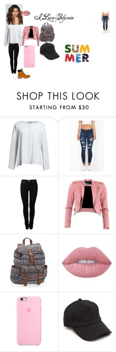 """""""By Mariam"""" by manicamara on Polyvore featuring Canvas by Lands' End, MM6 Maison Margiela, FRACOMINA, Aéropostale, Lime Crime, Coleman, rag & bone and Timberland"""
