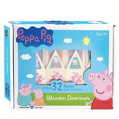 Peppa Pig Wooden Dominoes Game - Games - Games & Puzzles - Toys - The Warehouse