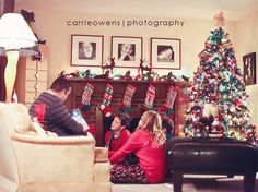 the holidays at the owens home| sandy utah child and family photographer