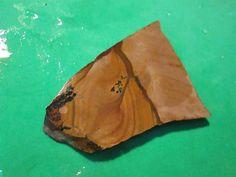 Dendritic Jasper Tan Black Cab Slab Rough Lapidary Wrap It by mnblarneystone on Etsy