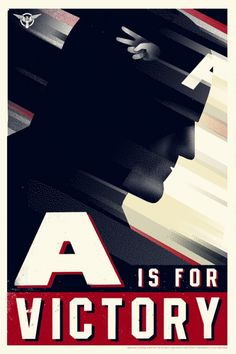 Mondo: The Archive | Olly Moss - Captain America, 2011
