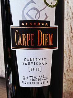 Carpe Diem Cabernet Sauvignon 2010 Itata Valley Chile