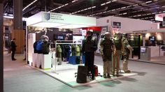 Our stand design for #verseidag at #eurosatory2014 in @pnvillepinte